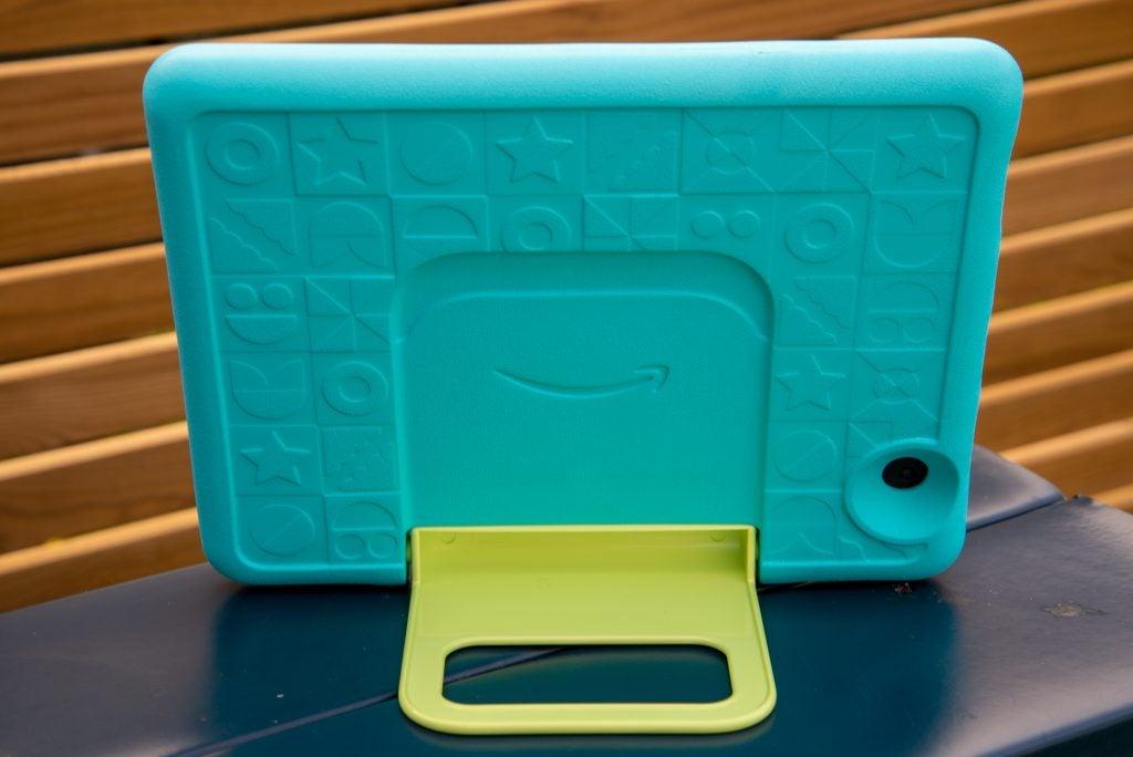 Amazon Fire HD 10 Kids rear