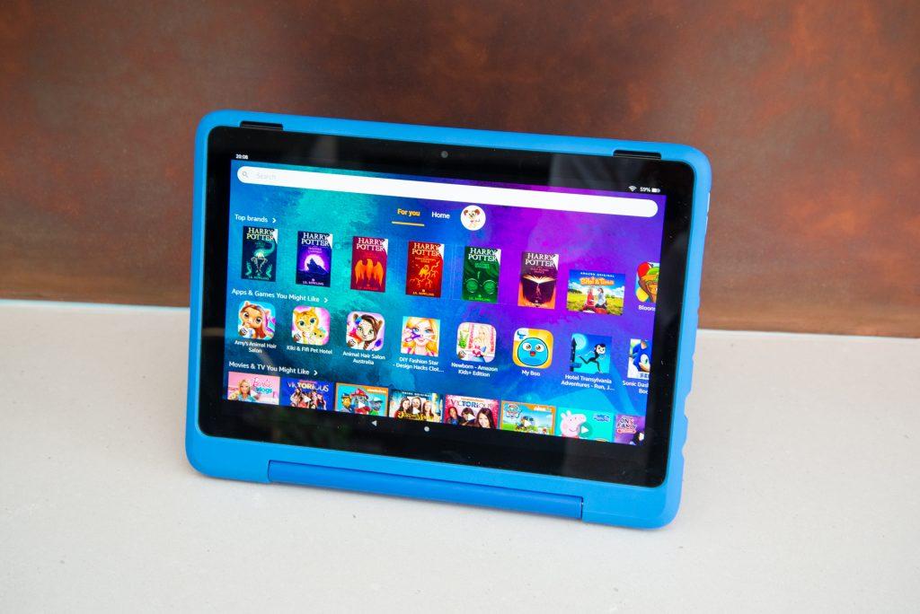 Amazon Fire HD 10 Kids Pro main interface