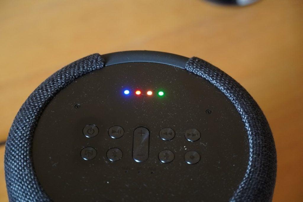Google start chime on Audio Pro G10
