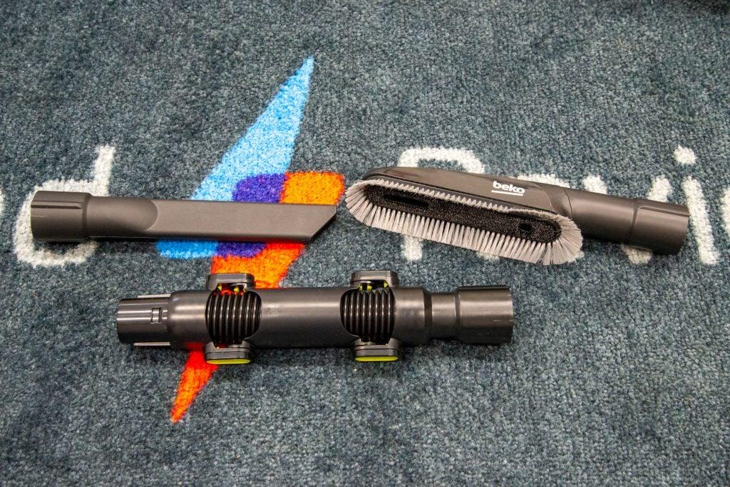 Beko PowerClean Cordless Vacuum Cleaner VRT94929VI accessories