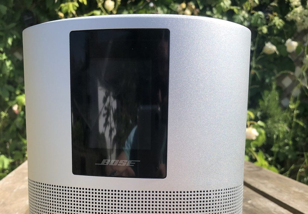 Image of Bose Home Speaker 500 outside