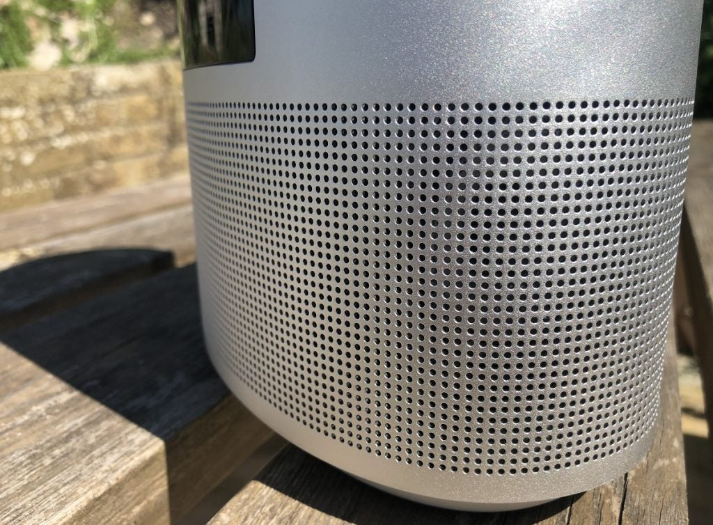 wraparound grille design on Bose Home Speaker 500