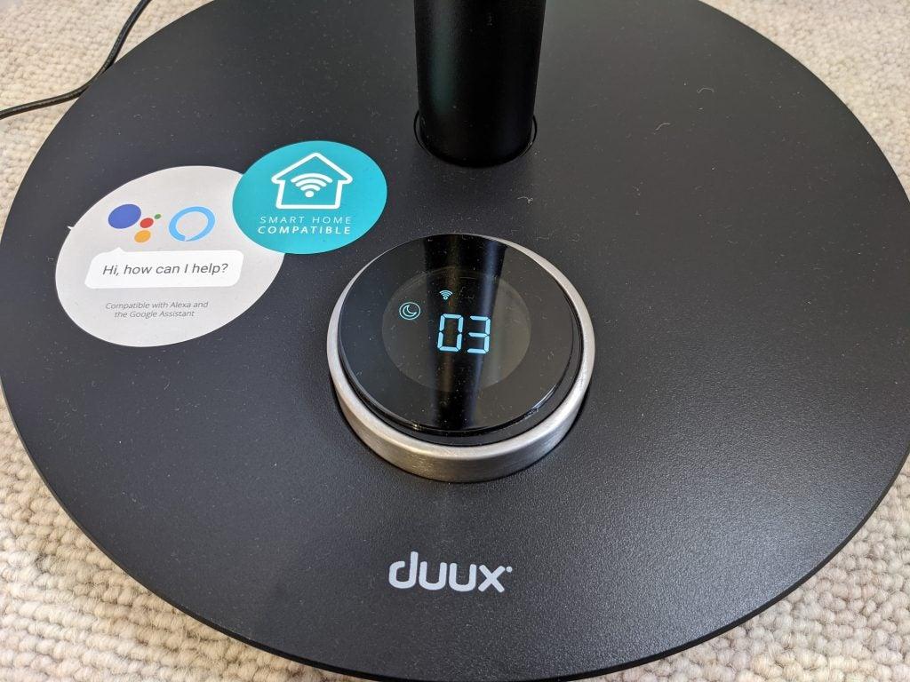 Duux Whisper Flex Smart controls