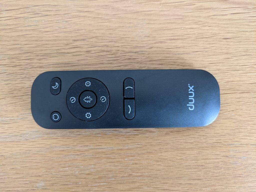 Duux Whisper Flex Smart remote