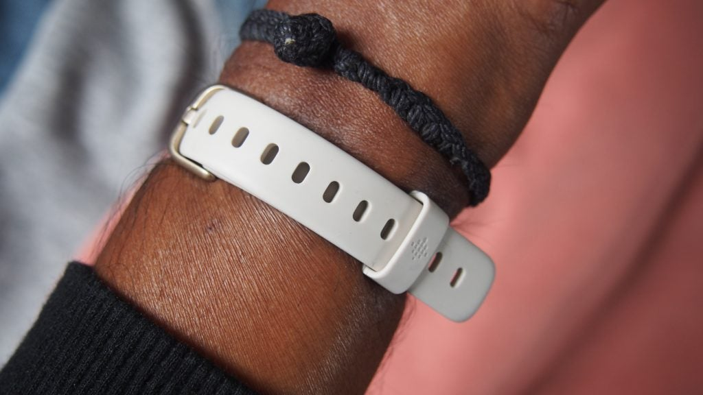 Fitbit Luxe back of the band