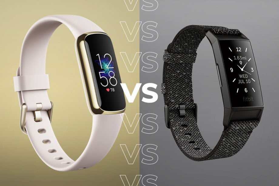 Fitbit Luxe vs Fitbit Charge 4