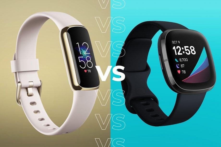 Fitbit Luxe vs Fitbit Sense