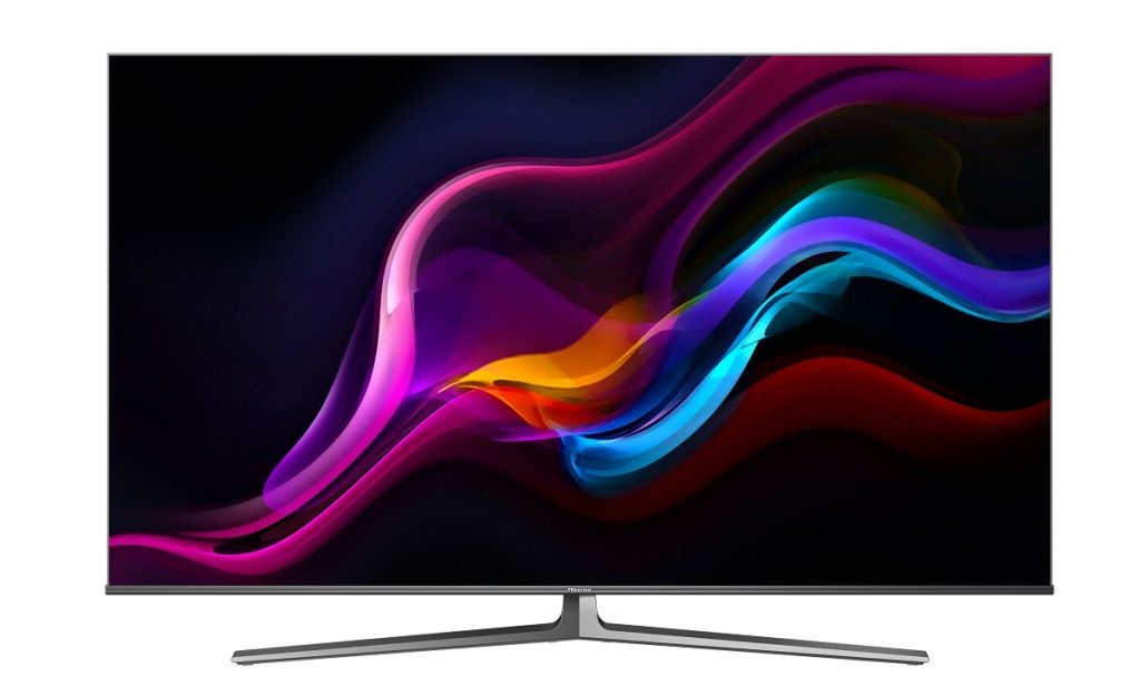 Press image of Hisense U8G QLED TV