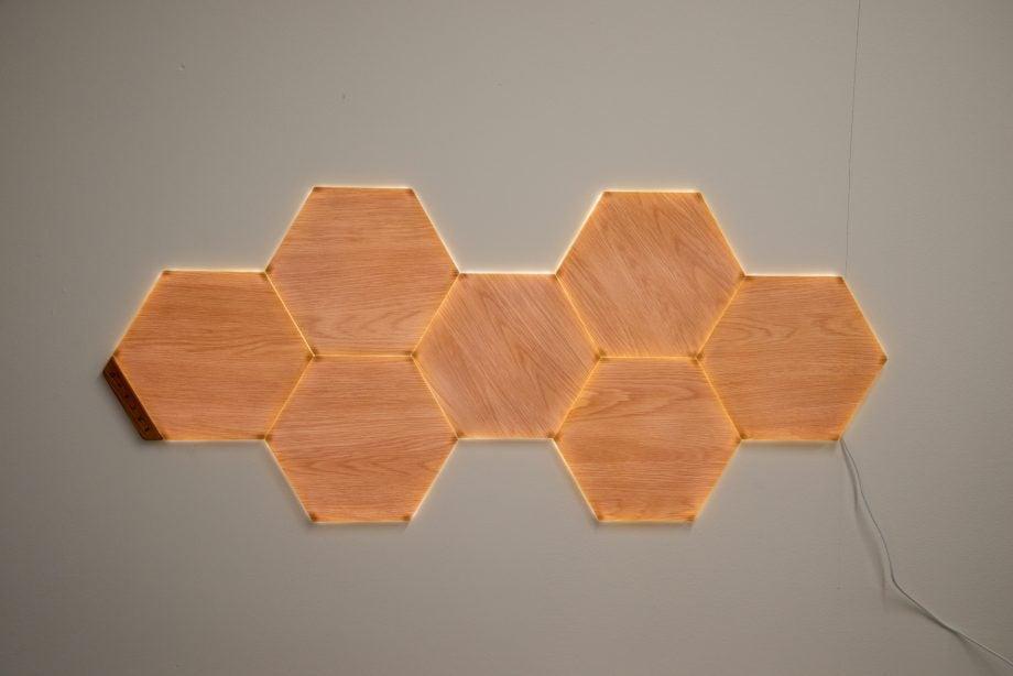 Nanoleaf Elements simple lighting pattern