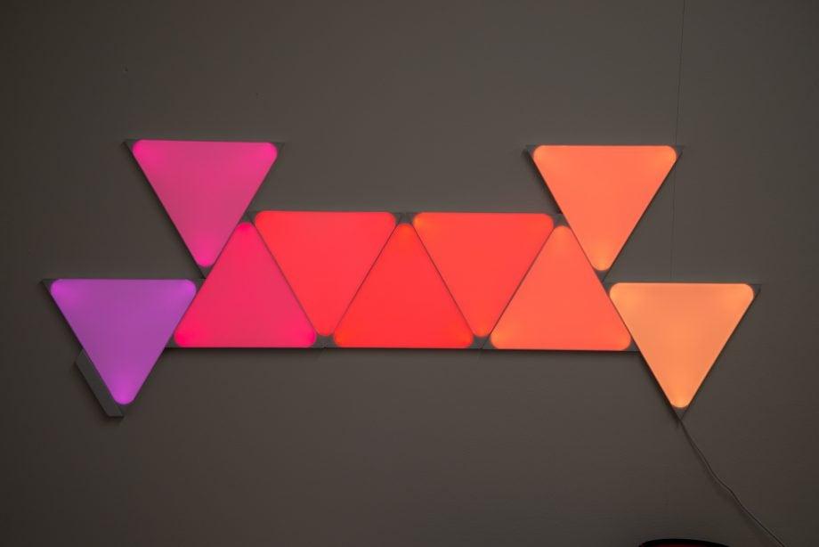 Nanoleaf Shapes colour changing