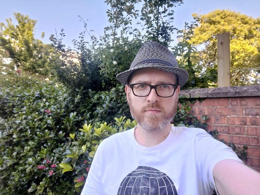 Oppo A54 5G camera sample Selfie