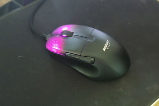 Roccat Kone Pro viewed from above