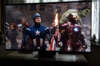 Marvel's Avengers on the Samsung QE65QN94A 4K TV