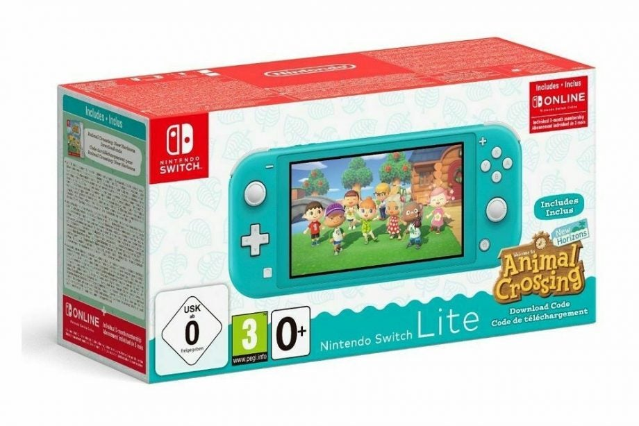 Switch Lite and Animal Crossing