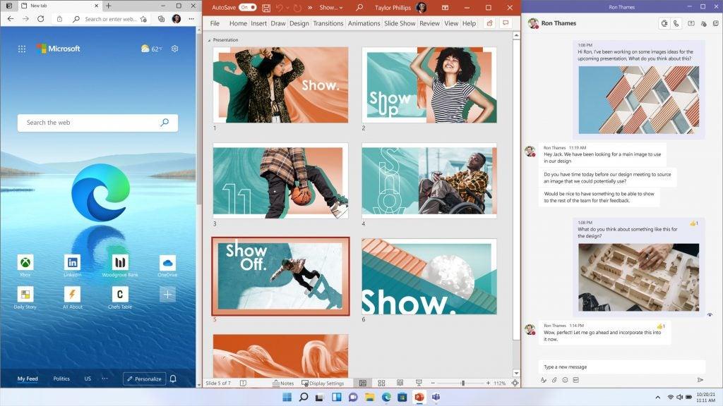 Windows 11 multitasking