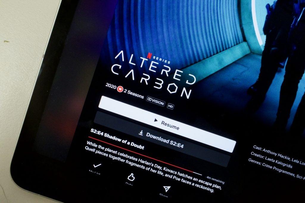 iPad Pro 2021 con el logotipo de Dolby Vision