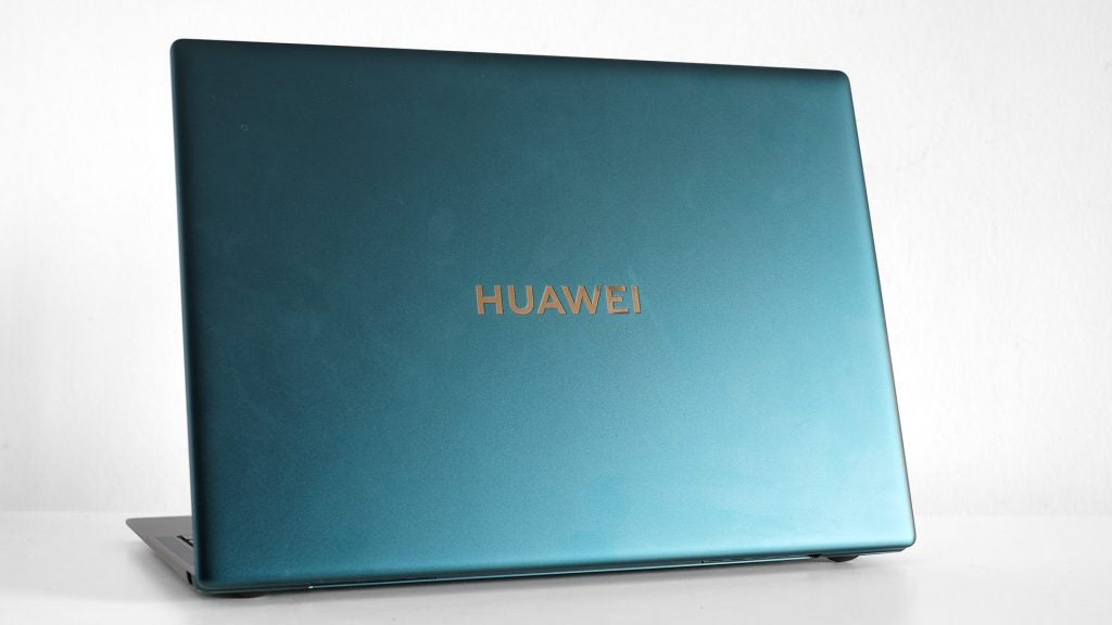 Rear of the Huawei MateBook X Pro (2021)