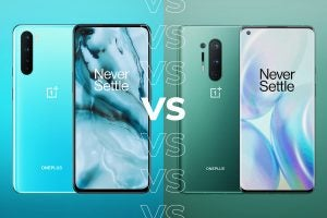 OnePlus Nord CE vs OnePlus 8