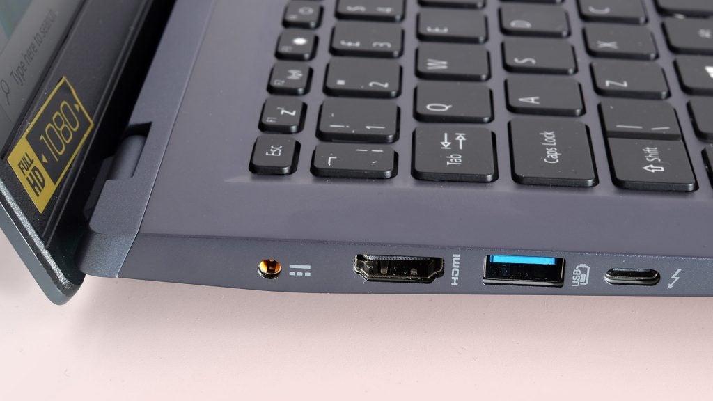 Acer Swift 3X ports