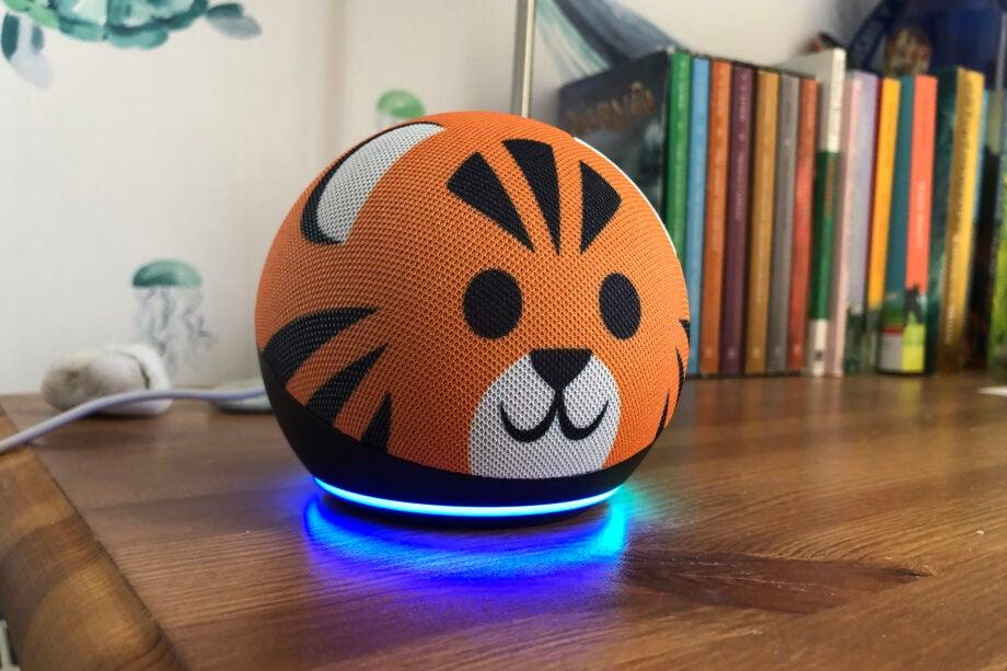 Amazon Echo Dot (4th Generation) Kids front
