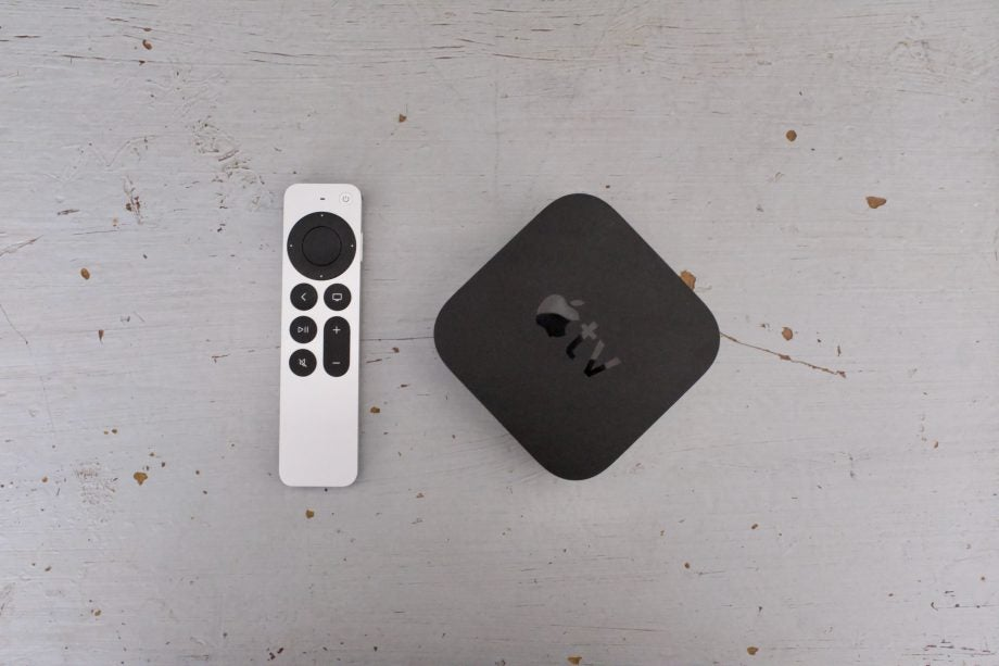 Apple tv 4k 2021 with remote and box