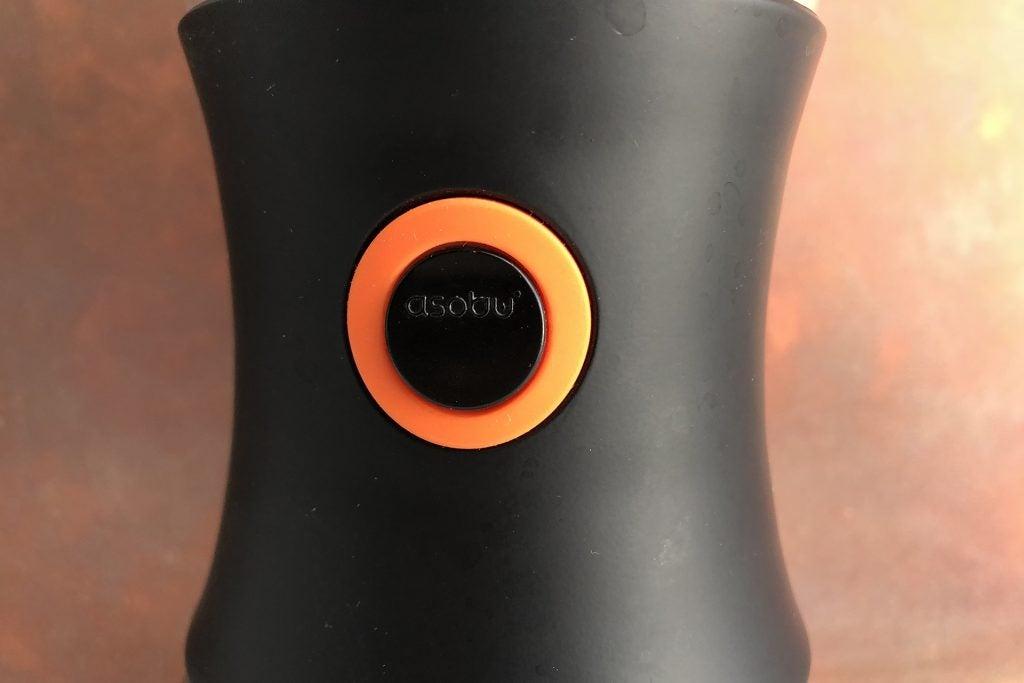 Asobu Cold Brew coffee maker unlock button