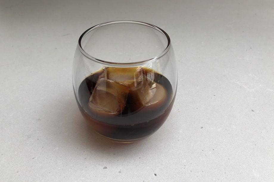 Asobu Cold Brew Coffee Maker final coffee