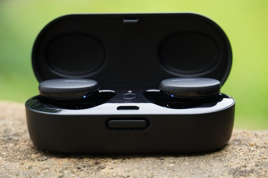Bose Sports Earbuds picture outside