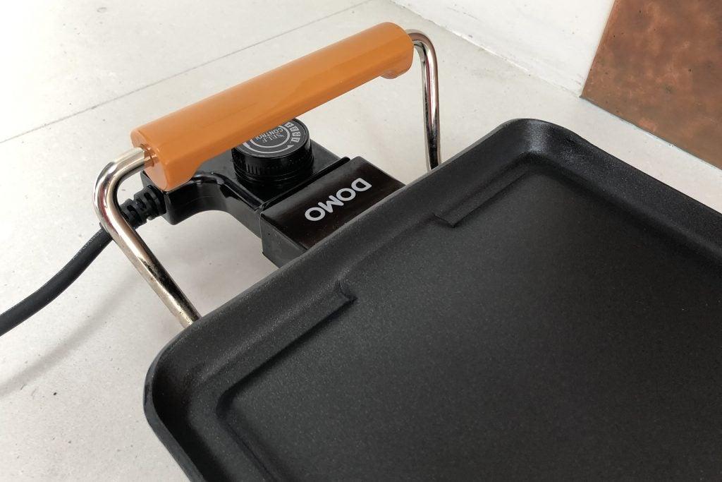 Domo Teppanyaki XXL edge of pan