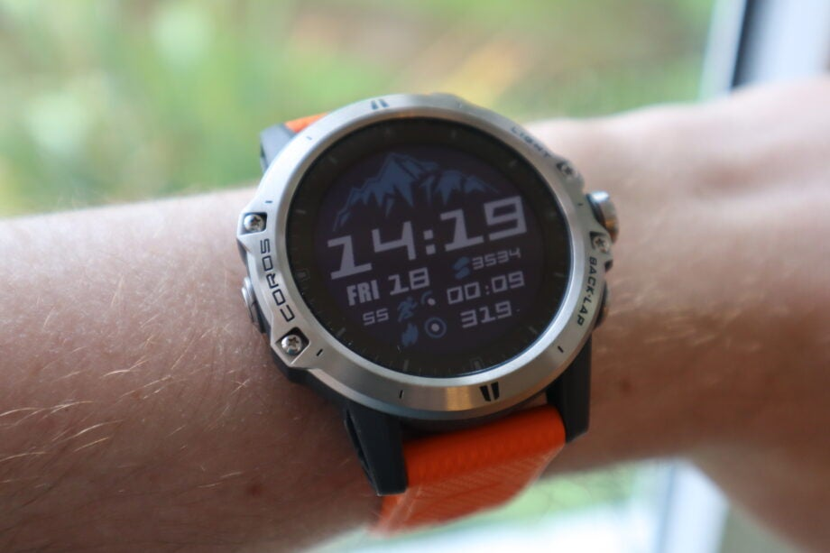 The Coros Vertix is one of the strongest fitness trackers around