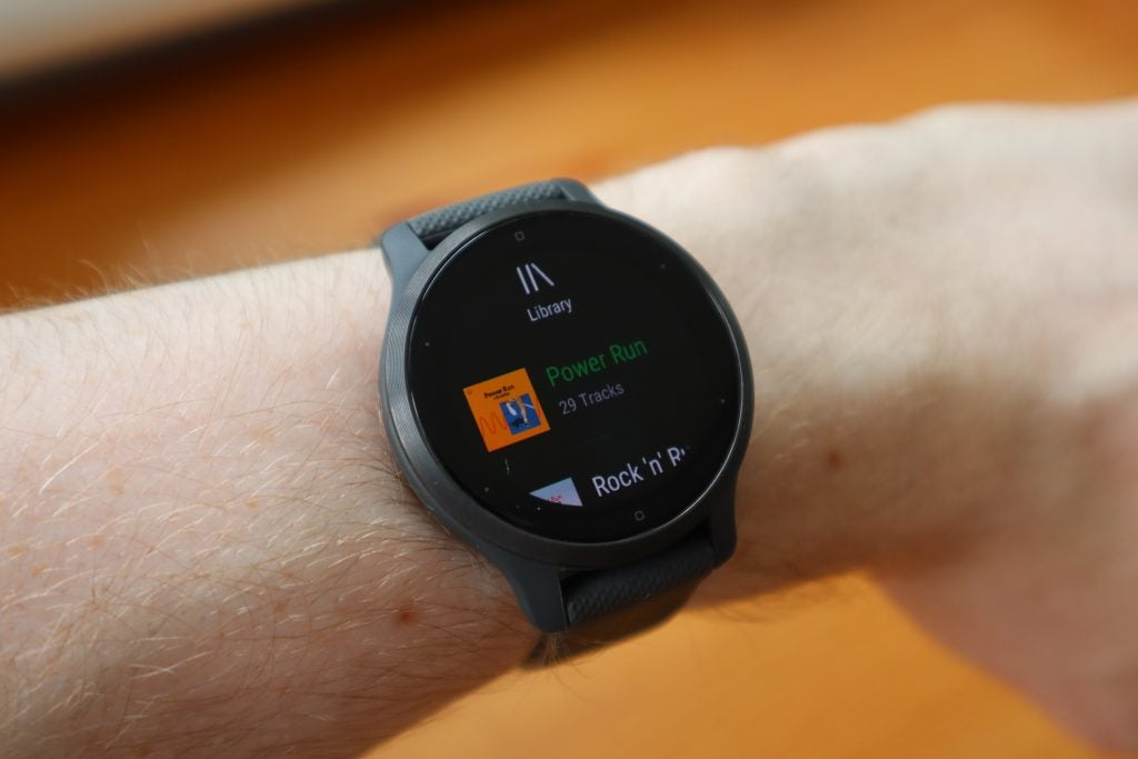You can listen to Spotify playlists offline with the Garmin Venu 2S