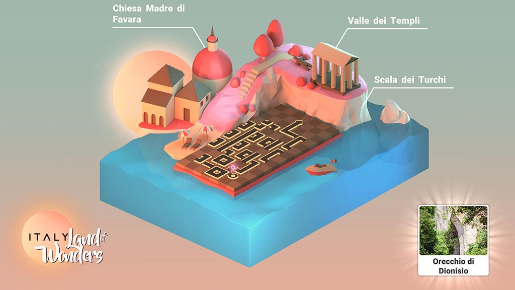 ITALY: Land of Wonders allows anyone to see the beauty of Italy through a puzzle game.