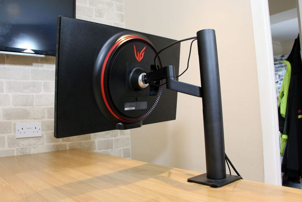 The monitor's stand