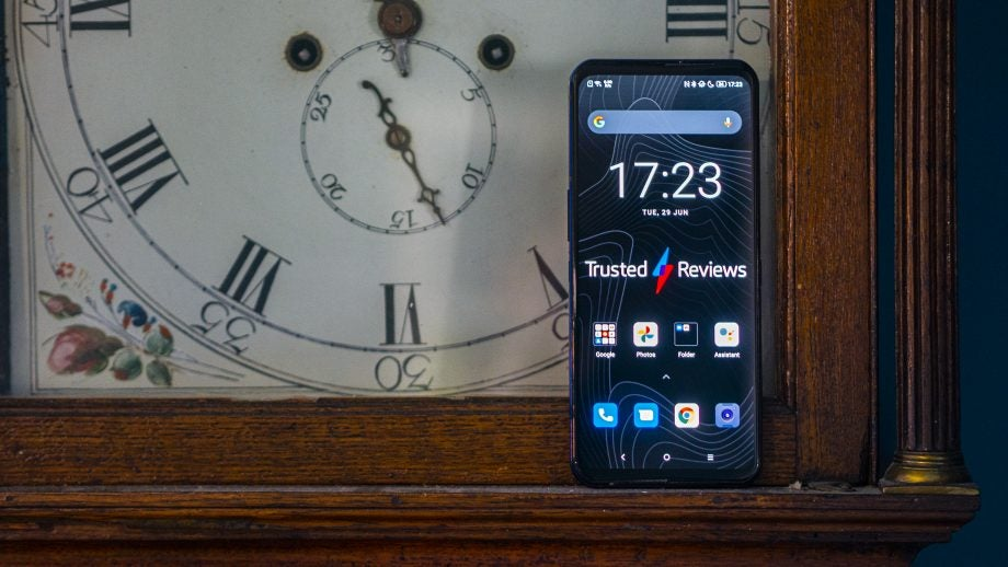 Lenovo Legion Phone Duel 2 face on showing display