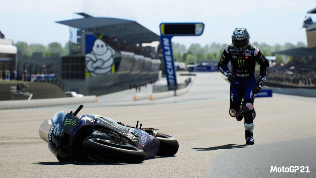 Bike retrieval on Moto GP 21