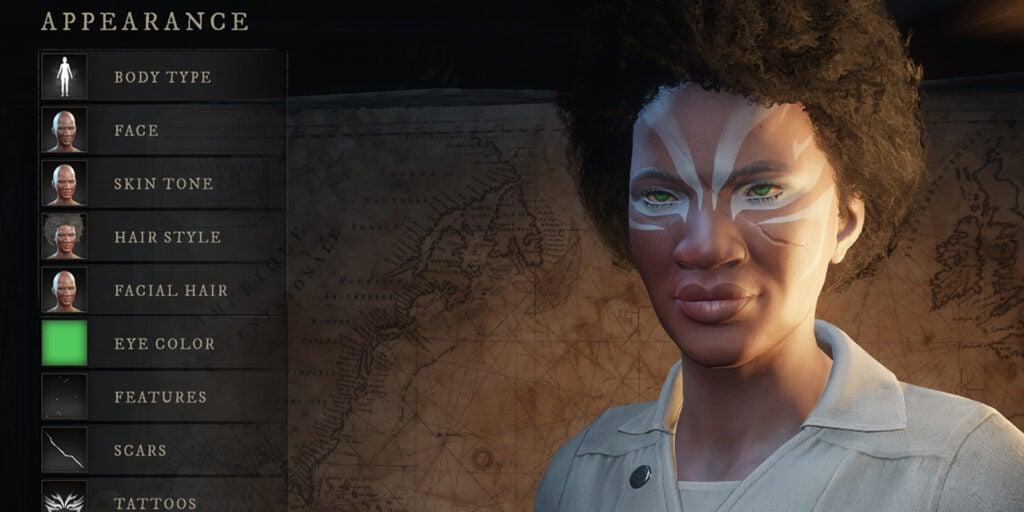 Создание персонажа в новом мире