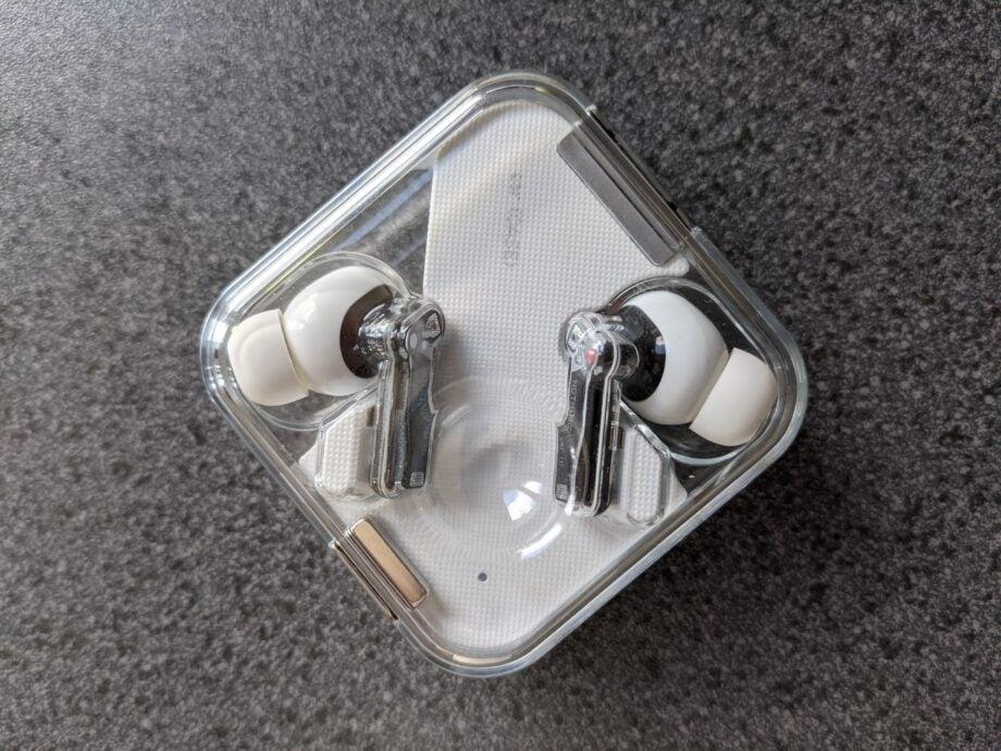 Nothing ear 1 inside case