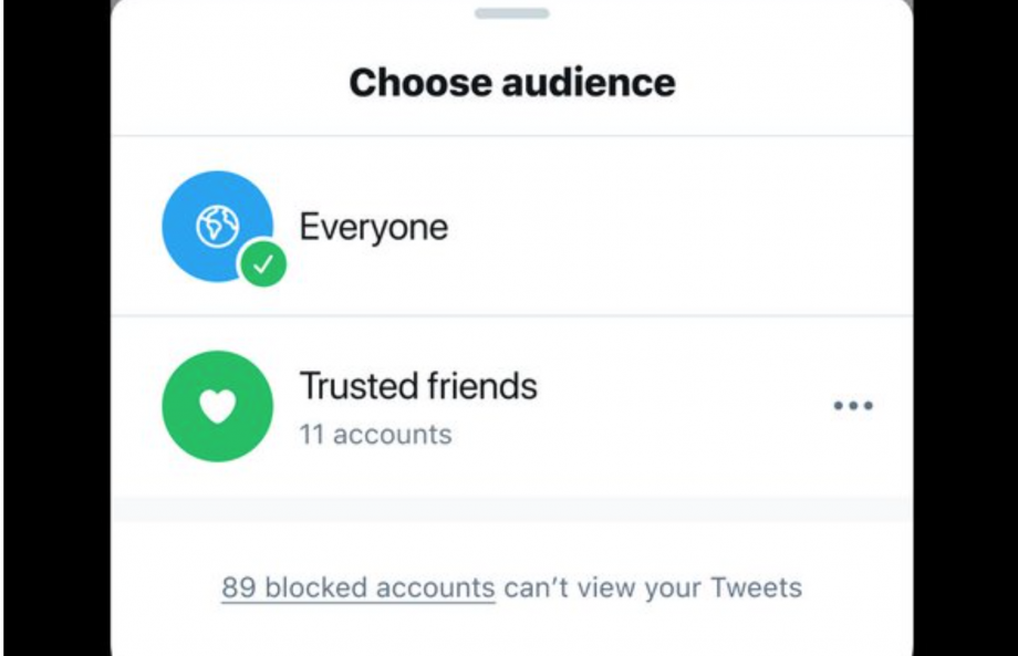 Twitter Trusted Friends