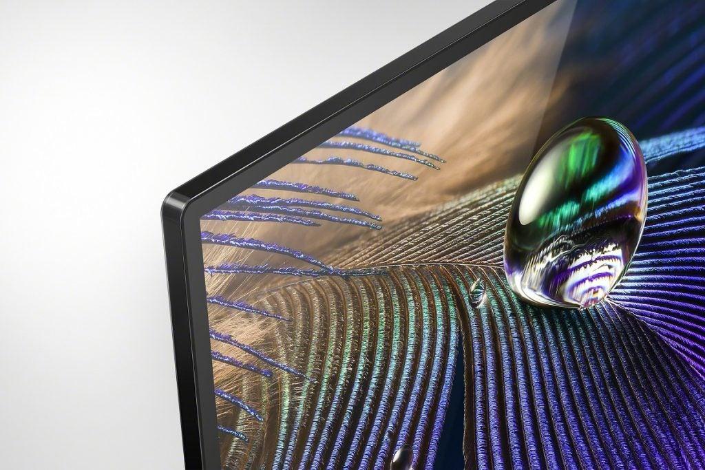 рамка лицевой панели на Sony XR-55A90J OLED