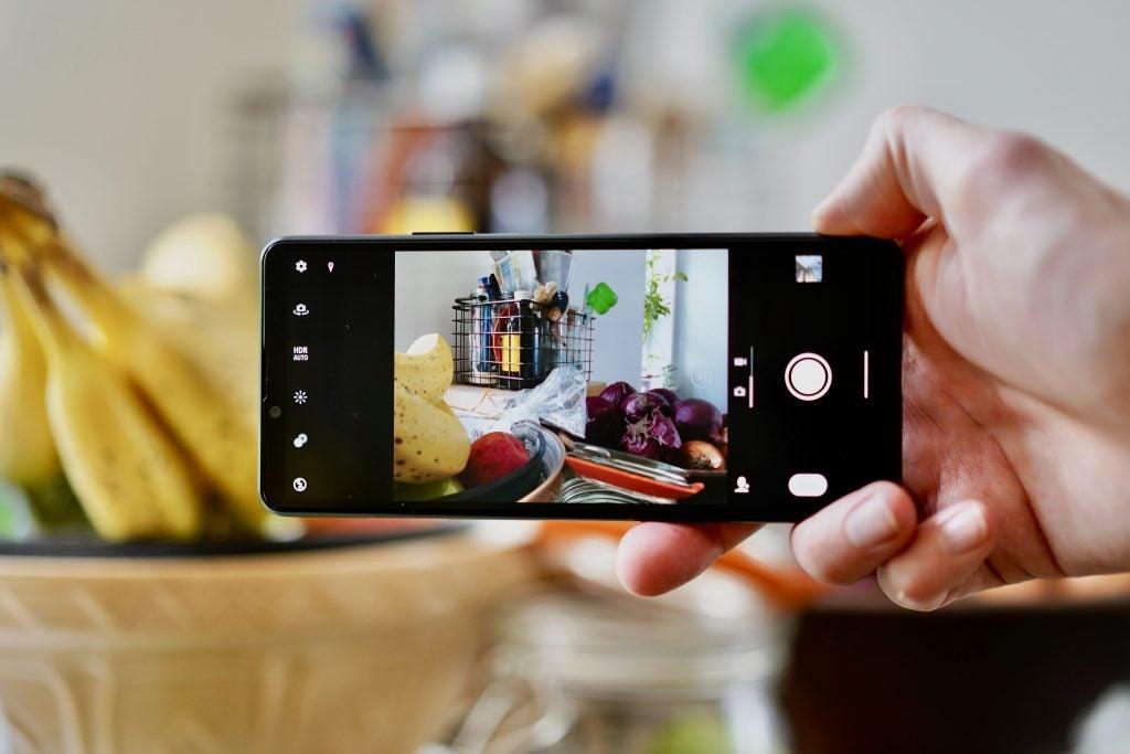 Sony Xperia 1 III Camera-UI