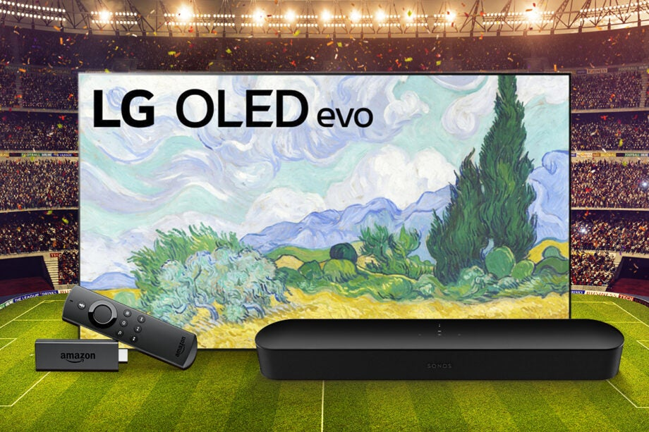 How to get the ideal TV, soundbar and streaming stick set-up for watching football at home