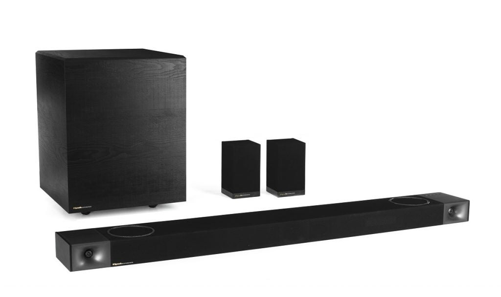 Klipsch Cinema 1200 system with rear speakers