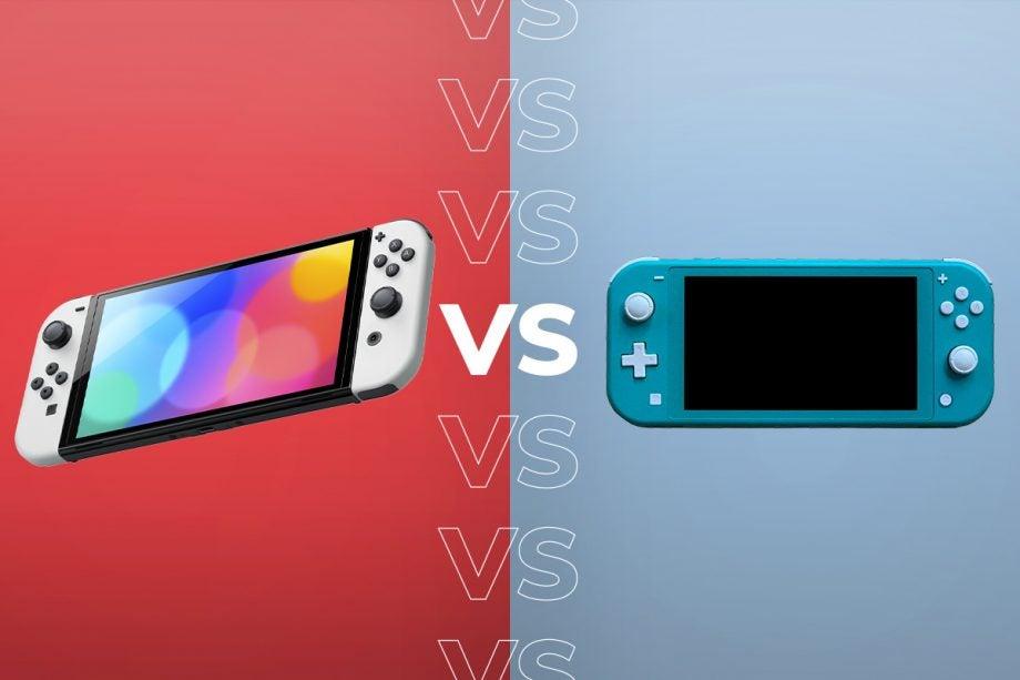 Nintendo Switch OLED vs Switch Lite
