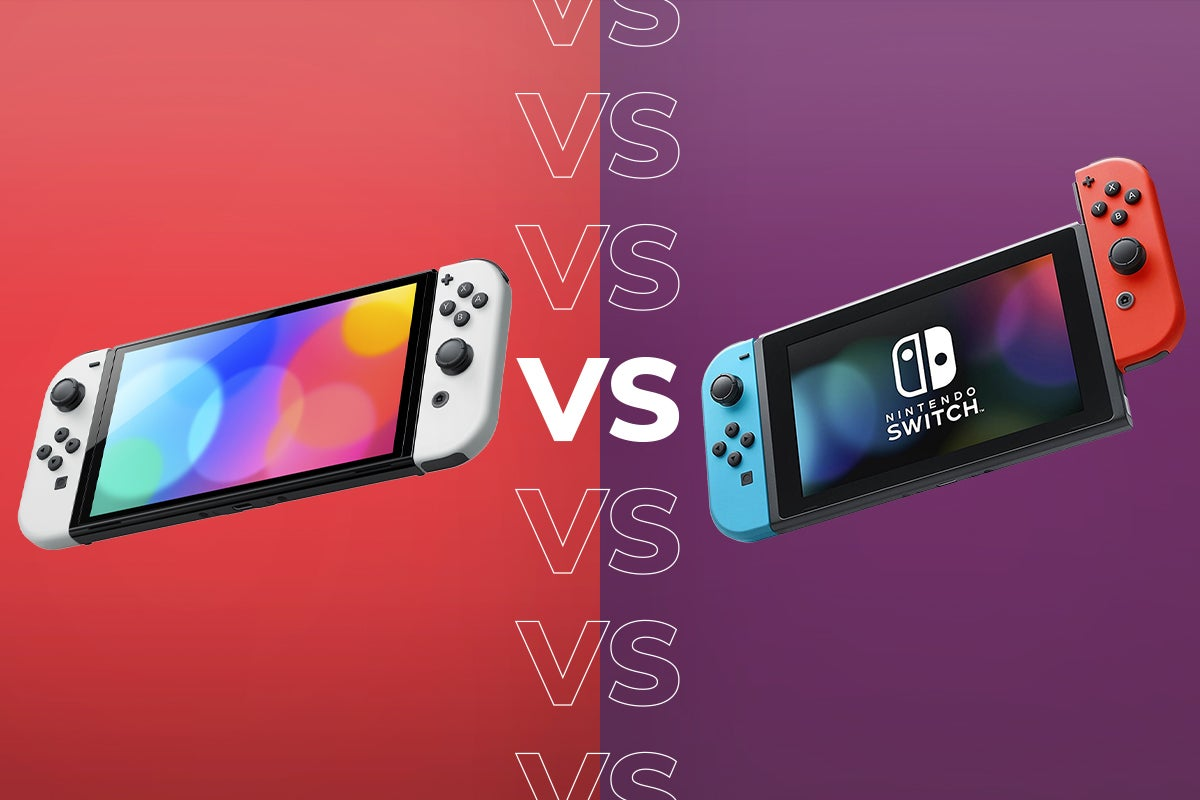 Nintendo Switch OLED vs Nintendo Switch: The key things to know