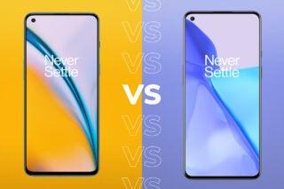 OnePlus Nord 2 vs OnePlus 9