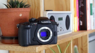Panasonic Lumix GH5 II front without lens