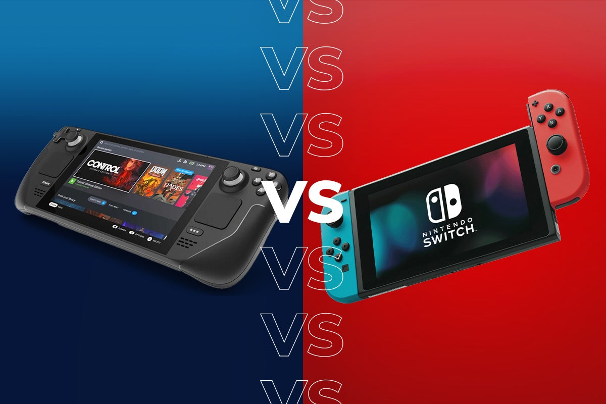 Steam Deck vs Nintendo Switch: 6 key differences you should know