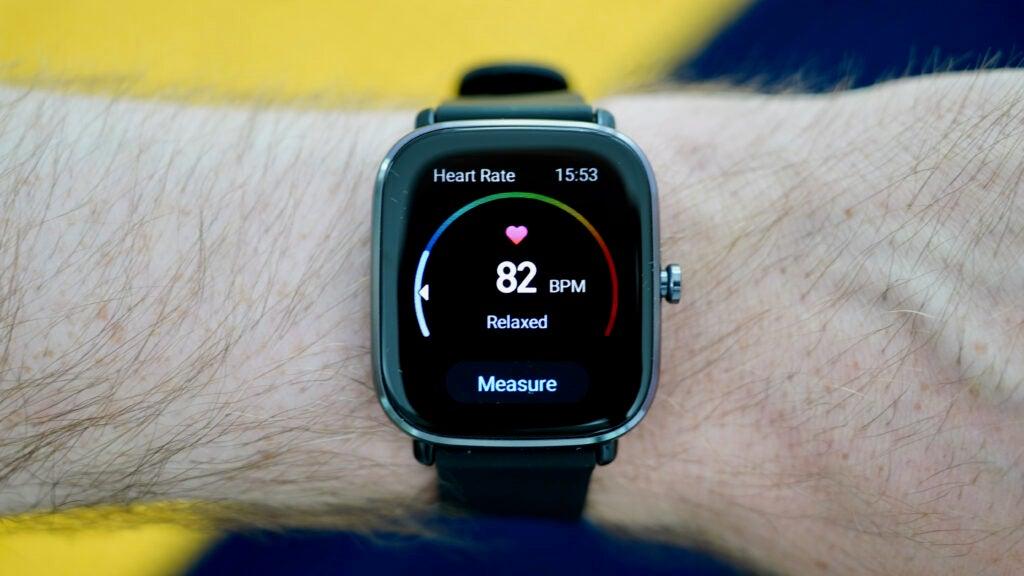 Amazfit-GTS-2-Mini-heart rate tracking