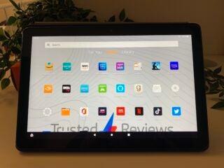 Amazon Fire HD 10 apps landscape