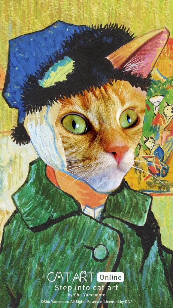 HTC cat art Instagram filter